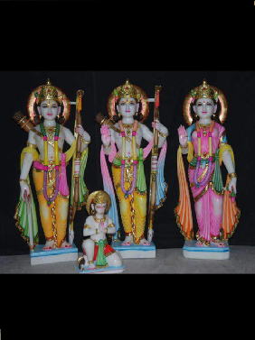 Marble Ram Laxman And Sita In Ghaziabad
