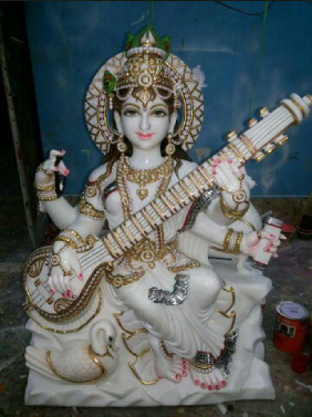 Marble Saraswati Devi In Thane