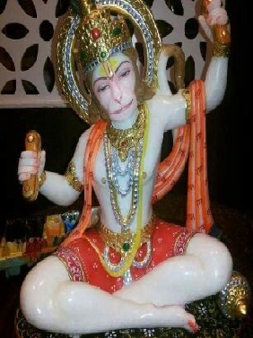 Bhakt Hanuman Ji In Indore